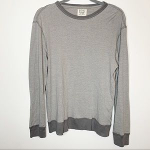J.Crew Basic Gray Pullover Sweatshirt Size Medium